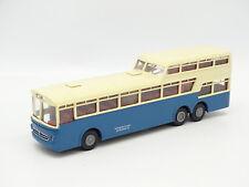 Brekina SB 1/87 HO - Car Pullman Mercedes O317 Blu