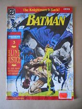 BATMAN n°23 1990 Monthly in lingua inglese ENGLISH [P54] BUONO