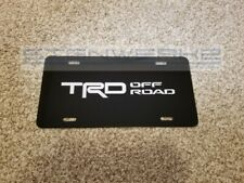 TRD Off Road License Plate metal novelty vanity license plate