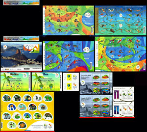 BRAZIL 2016 KIT OLYMPIC PARALYMPIC GAMES RIO 2016, ALL RELEASES - 3294d, ALL MNH