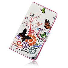 Smart Wallet Leather Flip Magnetic Pocket Hard Cover Case For LG Optimus L70