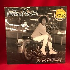 WHITNEY HOUSTON I'm Your Baby Tonight 1990 Vinyl LP  Excellent Condition B