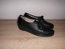 Waldläufer  Pumps Gr. 38,5 -  5 1/2  Schuhe schwarz Halbschuhe Schnürschuh ✿