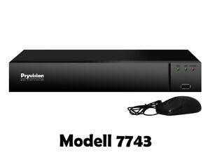 4K Netzwerk Video Rekorder 9 Kanal NVR Recorder H265 für IP Netzwerk Kameras UHD