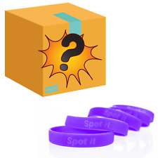 100 x Meningitis Charity Wristbands Plus a Selection of Novelty Gifts worth £100