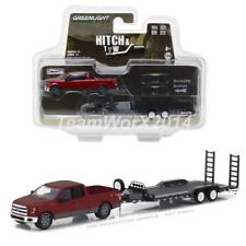 GREENLIGHT 32110 C 2015 FORD F-150 PICKUP & TRAILER DIECAST MODELS 1:64