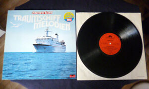 LP James Last Traumschiffmelodien ZDF-Serie Ich Habe Das Leben Gelebt Polydor nm