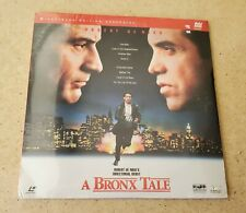 Laserdisc,  A Bronx Tale. 2 disc, Widescreen Edition Rare Sealed