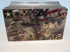 420 Grey Army Veteran Military Funeral Memorial Cremation Urn - Free Text!