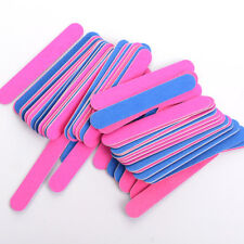 20PCS Sanding File Buffer Nail Art Tips For Salon Manicure UV Gel Polisher Tools
