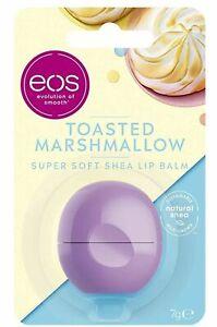 EOS CHERRY VANILLA/TOASTED MARSHMALLOW  SUPER SOFT SHEA LIP BALM 7G Brand New