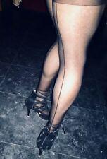 Calze autoreggenti sexy Con Riga Nere Velate sexy shop calze retrò collant donna