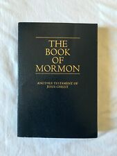 The Book of Mormon Bible Testament Jesus Christ Religious Church Worship