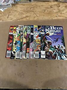 Marvel Comics 80S Mixed Lot (F) 10 Ct