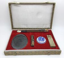 Chinese Calligraphy Art & Chop Stamp Set in Box (RF625)