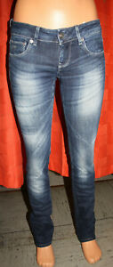 G-Star Damen Jeans 3301 STRAIGHT WMN W27 L32 blau gstar