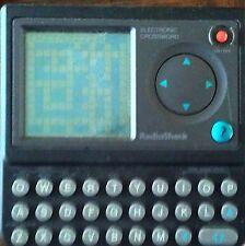 Radio Shack Electronic Crossword Puzzle Pocket Video Game #DD*