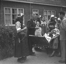 MERKEN c.1950 -Population Costumes Traditionels Hollande- Négatif 6 x 6 - Hol 24