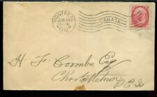 Machine cancel Montreal 1900 to PEI Canada cover