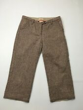 Women's Timberland Cropped Trousers - W32 L25 - Brown - Great Condition