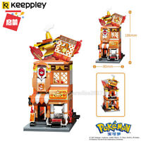 Enlighten Building Blocks Street View Pokemon Charmander Fit Minifigures