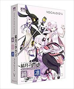 VOCALOID4 Yuzuki Yukari Complete jun On Rin Windows Mac SAHS-40946 Japan NEW
