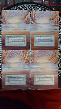 Underground Sea x4 Revised Playset Altered Alter MTG Magic the Gathering