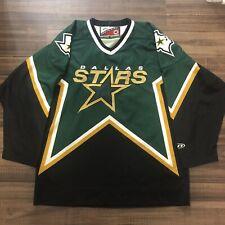Dallas Stars NHL Hockey Jersey 1997 Vintage Green Alternate Third Men's Medium M