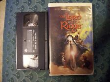 The Lord Of The Rings Animated Clamshell VHS