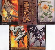 Lot de 5 Cartes SPAWN Neuves lot N° SPN6 005