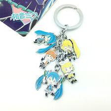 Vocaloid Cosplay Hatsune Miku Rin&Len Key Chain Ring KeyChain