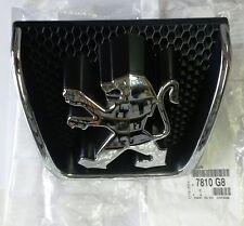 Genuine Front Grill Badge Emblem Logo For Peugeot 307 2001 - 2005 New 7810G8