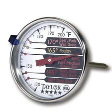 Taylor 5990N Stainless Steel Professional Meat Thermometer