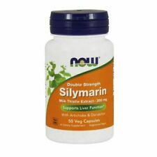 Silymarin 50 Veg Caps 300 mg by Now Foods