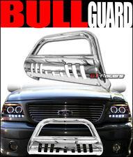 1999-2007 Silverado/Sierra 1500 Chrome Bull Bar Brush Bumper Grill Grille Guard