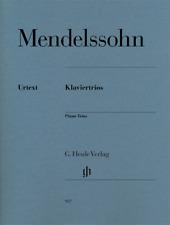 Henle Urtext Mendelssohn Piano Trios