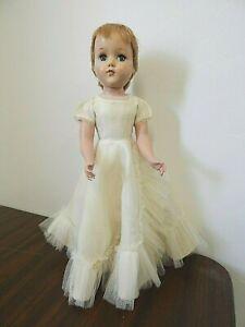 "Vintage Arranbee/R & B Nanette/Nancy 17"" Hard Plastic Strung Doll w/Orig. Dress"