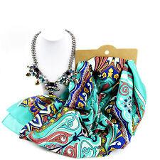 Joyas Paquete Perfecto Y Plata Bufanda Y Conjunto De Collar Para Mujer