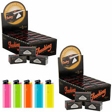 Cartine SMOKING ROLLS LUNGHE 48 pacchetti cartine a ROTOLO 2 box