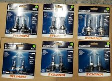 Sylvania Silverstar Halogen Lamps H1 H3 H4 H7 H10 9005 9006 880 881 9004/7