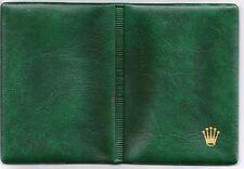 ROLEX Vintage CARDFOLDER & 15053 STICKER 7377669 Plastic CARD WALLET  100.00.41
