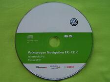 CD NAVIGATION FX FRANKREICH 2012 V4 VW RNS 310 CADDY TOURAN SEAT SKODA AMUNDSEN