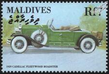 1929 Cadillac 341B Fleetwood Roadster Menta sello del automóvil Coche (2000) Maldivas