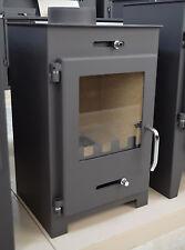 Estufa de leña encimera Conducto humos 7 KW Top chimenea madera/Carbón macizo