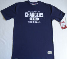 NWT Property of Chargers T Shirt Gridiron Classic New Old Stock Reebok Youth XL