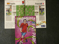 SPAIN v FRANCE 23.6.2012 UEFA EURO 2012 Quarter-Final programme España - Francia