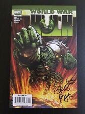 World War Hulk #1 signed by David Finch