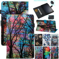 For Amazon Kindle Fire 7 HD8 HD10 2017 Tablets PU Leather Smart Stand Case Cover