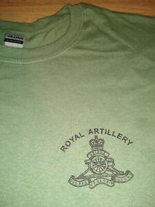 BRITISH ARMY ROYAL ARTILLERY REGIMENT T-SHIRT all sizes