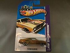 Hot Wheels Super Treasure Hunt 2013 '73 Ford Falcon XB from RLC Set,Protect Case